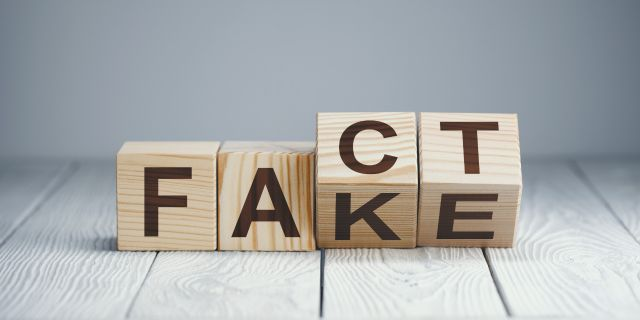 There's a fine line between facts and fake news