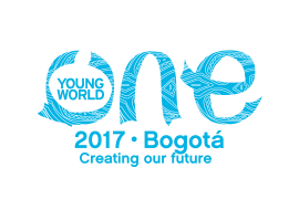 One Young World Summit 2017, Bogotá, Colombia, global and national companies, NGOs, universities, Corruption, Center Stage