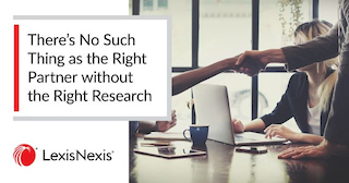 Research, New business partners, shake hands, Right Partner